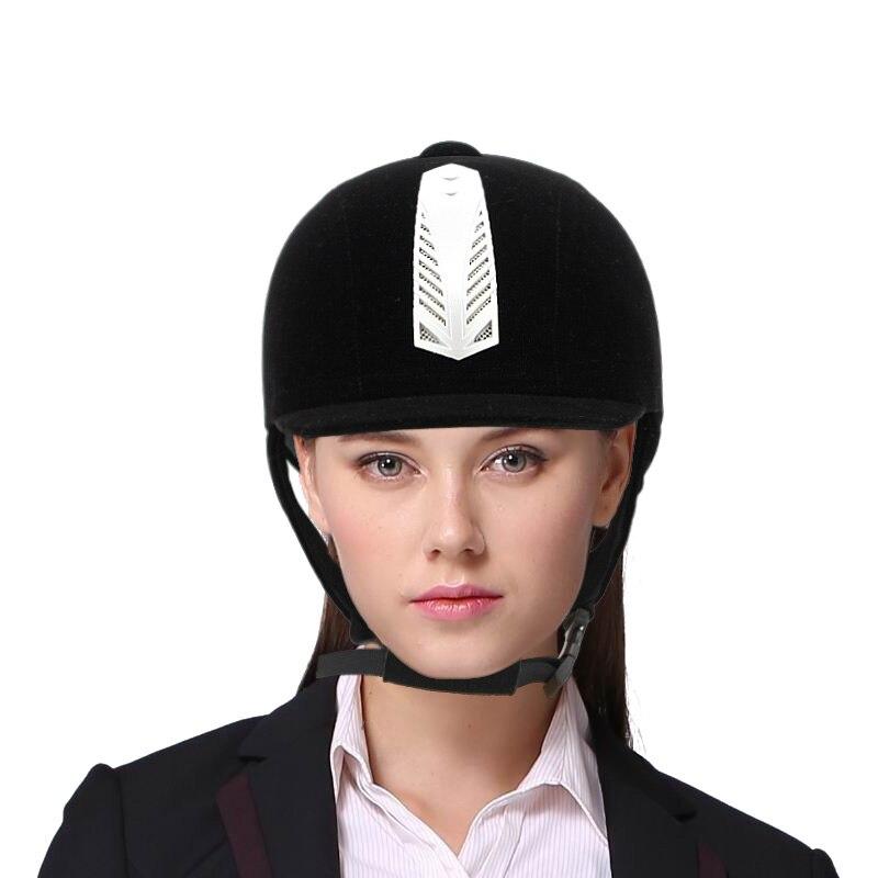 Equestrian supplies professional ma hat horse equestrian helmet Horse Racing Helmet  グループ上の スポーツ & エンターテイメント からの ボディプロテクター の中 1