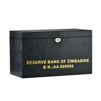 WR zimbabu 100 трлн позолоченная банкнота долларов 1000 шт с деревянной коробкой бизнес подарки коллекция поддельные бумажные деньги