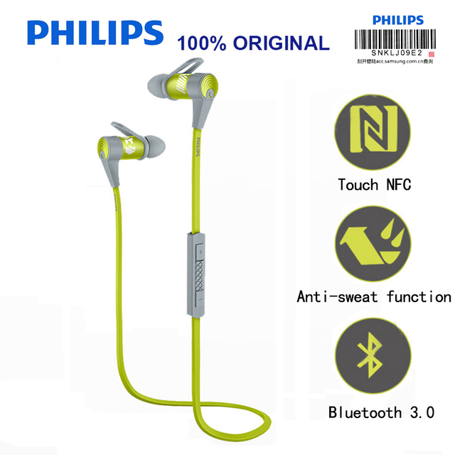 Philips earphones with microphone - earphones with volume control