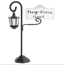 metal streetlight number place cards rack holder wedding events bridal party prom table decoratiion accessories favors supplies