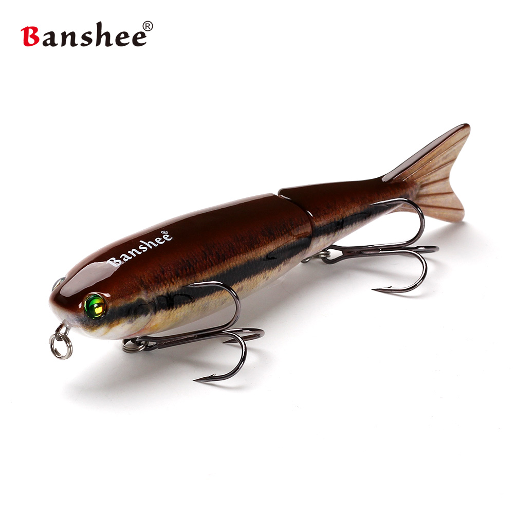 Banshee 127mm 21g Nexus Voodoo ATJ01 Swimbait two Sction multi Jointed Topwater  Walk dog Stickbait Floating Pencil садовая детская тяпка truper atj kid 10555