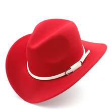 Шляпа Ковбойская Женская/Мужская полушерстяная с широкими полями