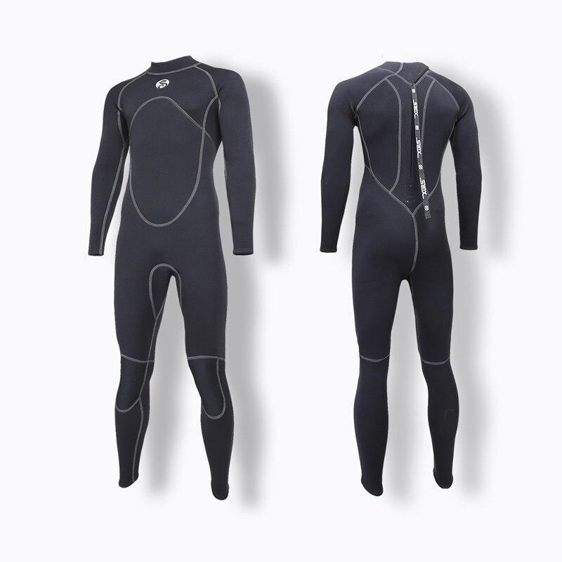 Nouveau SLINX 3mm Hommes Plein Corps Néoprène Triathlon Combinaison Plongée Combinaison De Plongée Humide pour Le Surf Plongée En Apnée Chasse Sous-Marine 4 Couleurs s-XXXL
