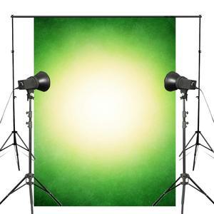 Image 1 - 5x7ft קלאסי ירוק לבן רקע צילום ילדי צילום סטודיו צילום רקע קיר