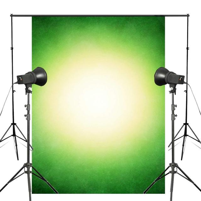 5x7ft קלאסי ירוק לבן רקע צילום ילדי צילום סטודיו צילום רקע קיר
