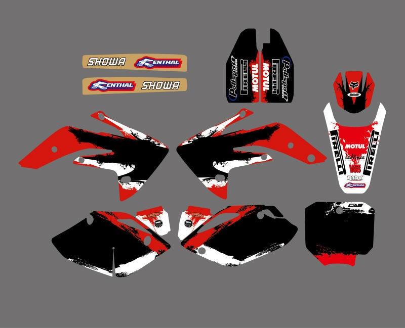 FOR HONDA CRF 150R 2007-2017 CUSTOM GRAPHICS KIT MX DECALS MOTOCROSS STICKERS