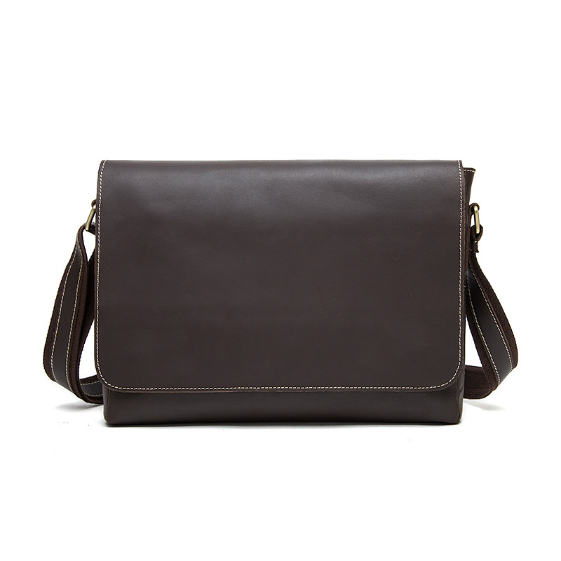 GOOG.YU Genuine Leather Bag Famous designer handbags Fashion Casual Messenger Bags Crazy Horse Leather Men Retro Shouler Bags