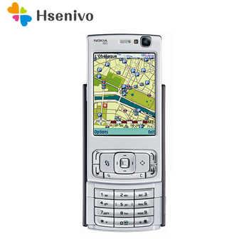 N95 Originale Nokia N95 WIFI GPS 5MP 2.6 Schermo WIFI 3G Sbloccato Il Telefono Mobile 1 Anno di Garanzia di Trasporto trasporto libero