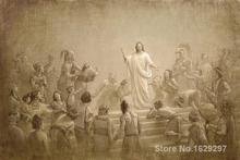 Christ in America Joseph Brickey reproduction art High quality Handpainted