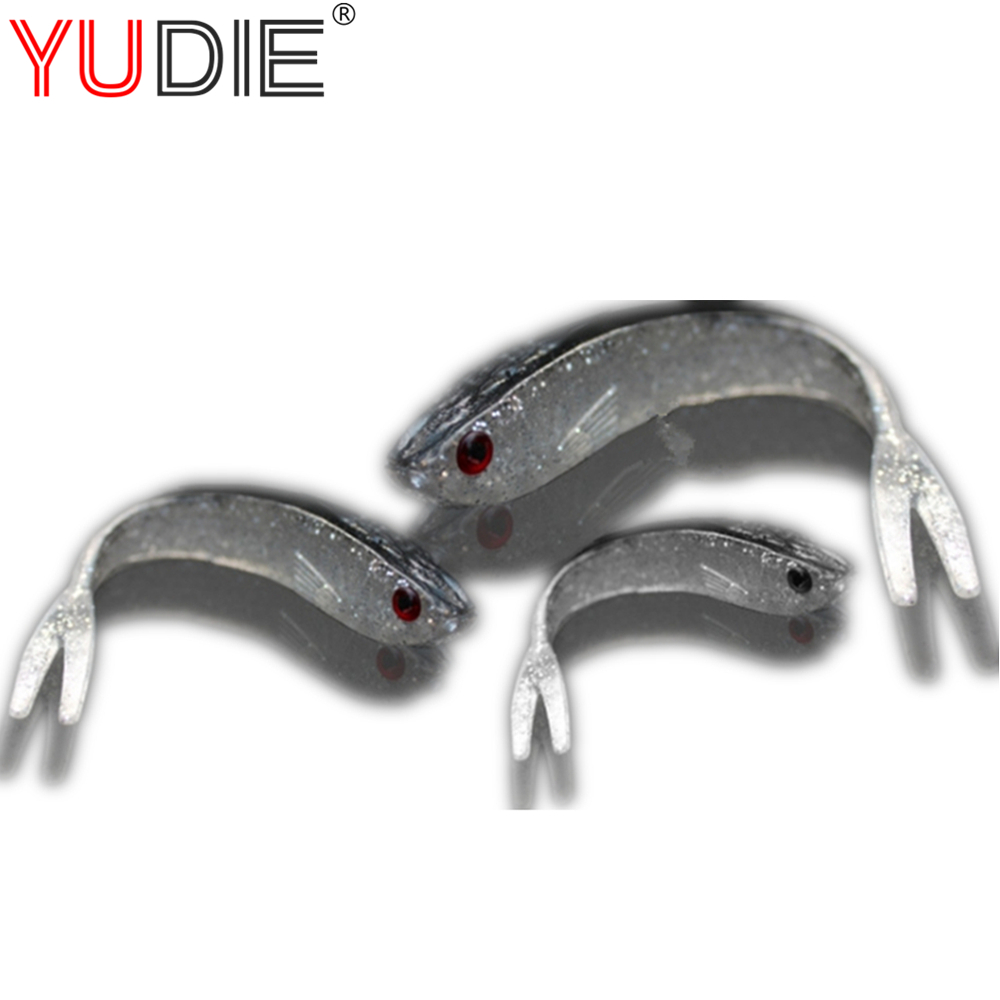 1pcs 7.5/10/13cm 3D Eyes Alice Fish Soft Lures For Carp Erythrina Fly Fishing Bait Accessories Hooks Wobblers Tool Sport Bait 1pcs 3 5g 3cm gold metal vib hard lure sea carp fly fishing spinner bait accessories jig hooks tool wobblers fish sport lures