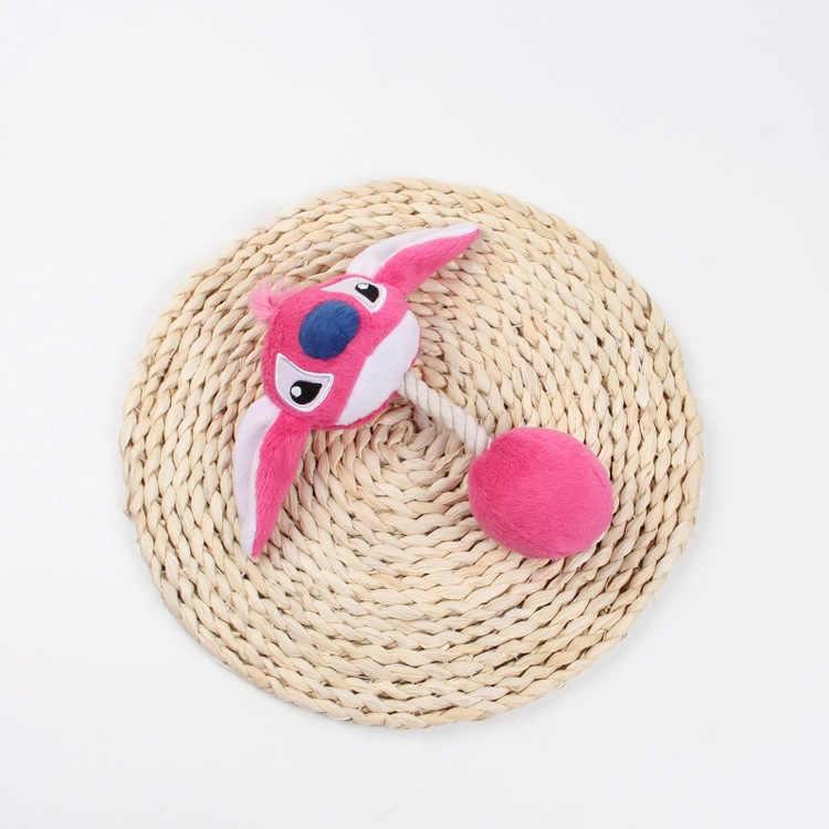 3 การ์ตูนสัตว์เลี้ยงผลิตภัณฑ์ Plush Squeak ของเล่นของเล่นสุนัขสัตว์เลี้ยงแมวน่ารักกัดเชือกเสียงของเล่น 20 ซม.plush squeak ของเล่น