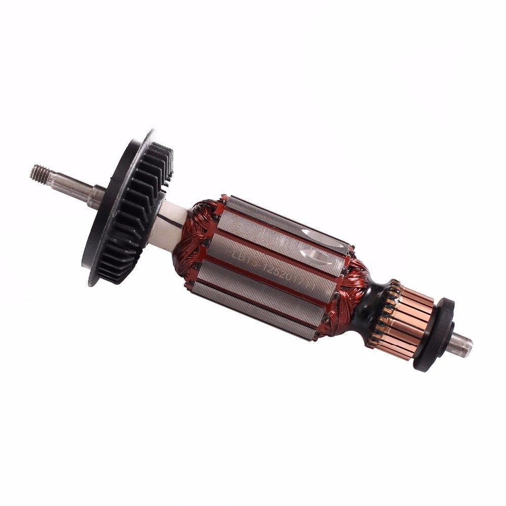 AC 220 V/240 V substituição Do Rotor Da Armadura Para BOSCH GWS GWS 8-125 GWS8-125C GWS8 850 ângulo moedor de peças de reposição
