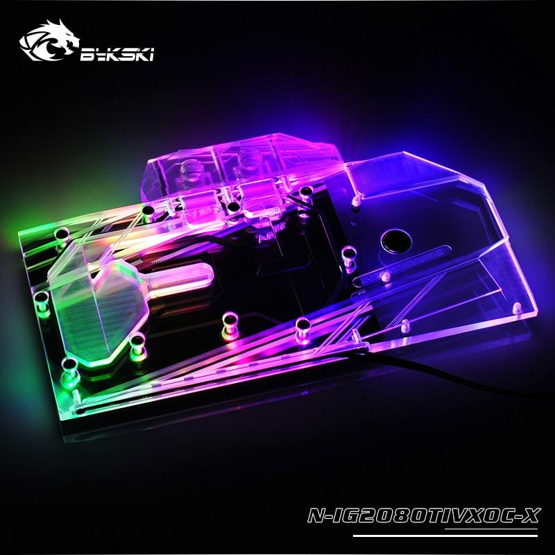 Bykski N-IG2080TIVXOC-X GPU Block for Colorful RTX2080TI Vulcan X OC 11GBykski N-IG2080TIVXOC-X GPU Block for Colorful RTX2080TI Vulcan X OC 11G