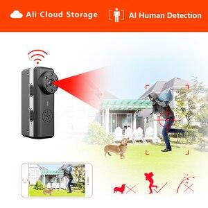 Image 1 - ZTour HD חכם מיני Wifi מצלמה AI אדם זיהוי IP/AP עלי ענן אחסון IR ראיית לילה אבטחת מקסימום 128G