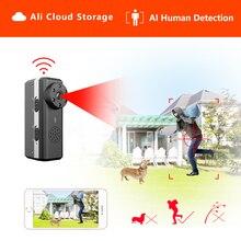 Ztour Hd Smart Mini Wifi Camera Ai Human Detection Ip/Ap Ali Cloud Storage Ir Nachtzicht Beveiliging Max 128G