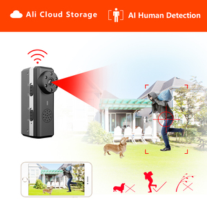 Image 1 - Ztour Hd Smart Mini Wifi Camera Ai Human Detection Ip/Ap Ali Cloud Storage Ir Nachtzicht Beveiliging Max 128G