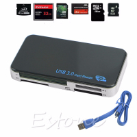 High Speed USB 3 0 Compact Flash Memory Card Reader CF Adapter MicroSD MS XD C26