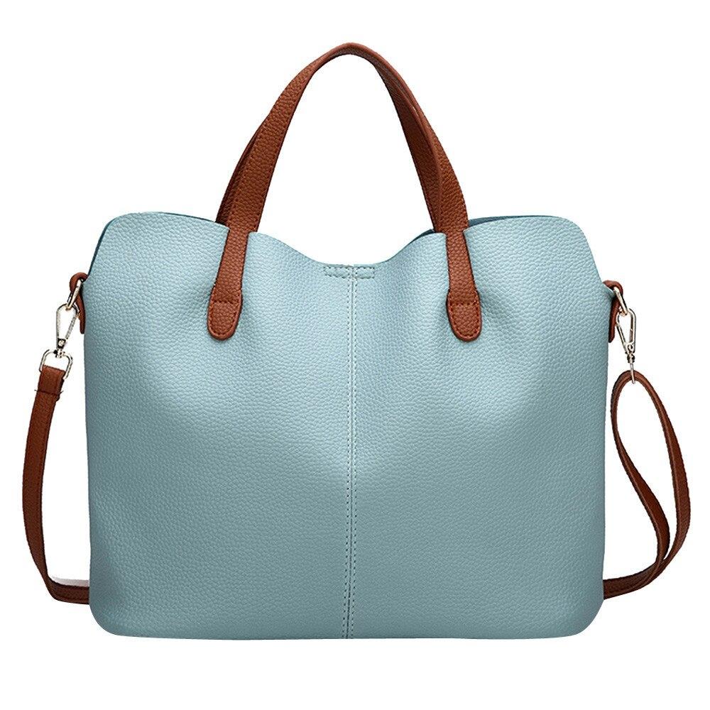 Women Bag Fashion Leather Pure Color Crossbody Zipper Shoulder Hand bolsa feminina bags for women 2019 bolso mujer