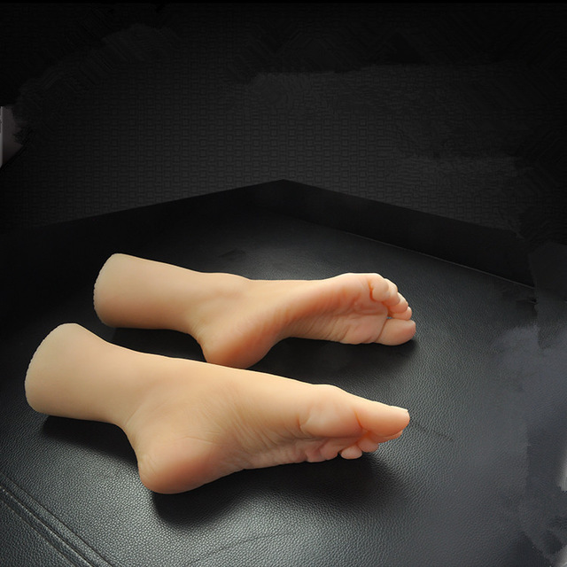New Little 8 Years Girl Fake Foot, Silicone Foot Model -8793