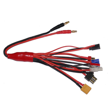 4.0mm banana connector to Female Tamiya Futaba TRX EC3 JST XT60 Multifunctional Lipo Charging RC charger adaptor Free shipping