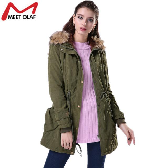 Women Winter Cotton Jackets