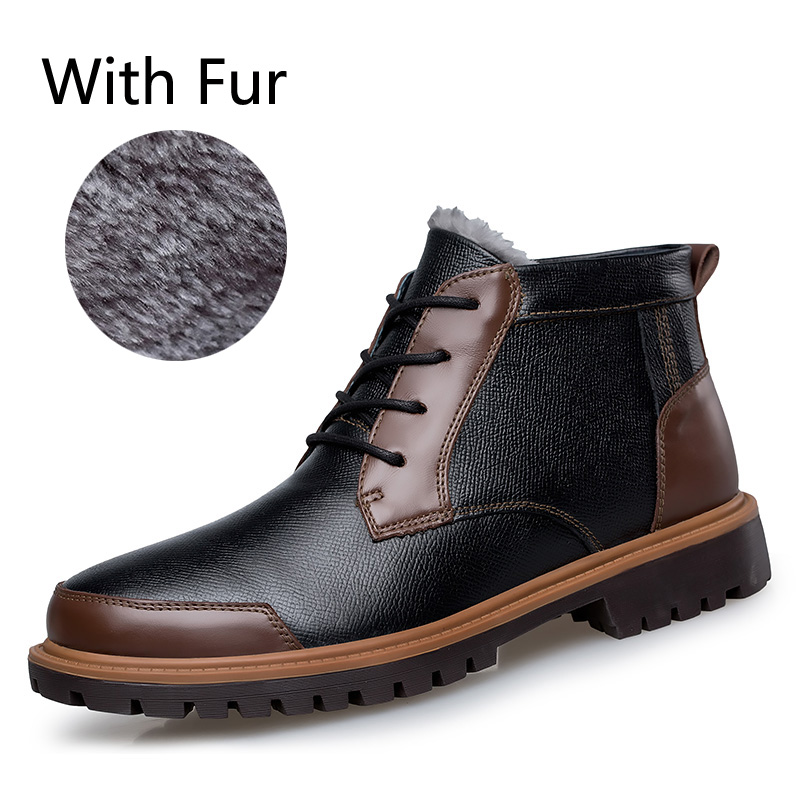 2016 boots winter genuine leather boots snow boots