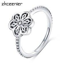 c0d5683d0b0c De moda Simple colección de Color de plata de vaciamiento de dedo anillos  Pandora de alta calidad para mujeres joyería de la bod.