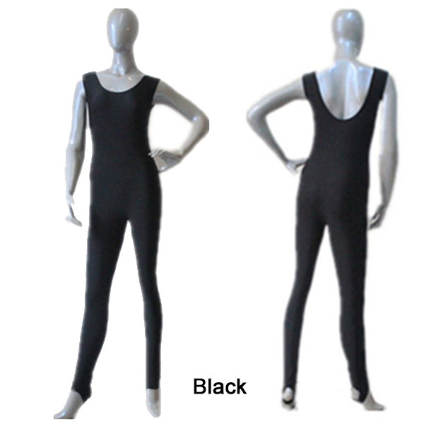 Retail White Colors Shiny Nylon Lycra Ankle Length Dance Gymnastics Unitards For Ladies And Girls