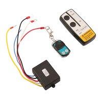 Marsnaska brand new 3 Wireless Winch Remote Control Set Kit 12V For Truck Jeep SUV ATV