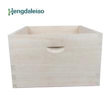 Инструменты для пчеловодства/Оборудование для пчеловодства аксессуар из дерева пауловния супер коробка/Улей глубокий улей тело для пчеловода