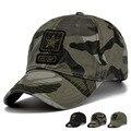 Армия США Камуфляж Бейсболки Женщины и Мужчины Лето Открытый Высочайшее Качество Хлопок Остроконечные Шляпы От Солнца,