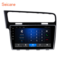 Seicane 10.1 inch HD 1080P Android 6.0 Car GPS Navigation Radio Player for 2013 2015 VW Volkswagen Golf 7 with Bluetooth
