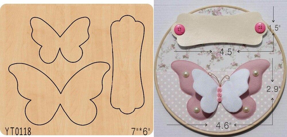 Outil de découpe bricolage papillon rose/YT0118/moule Scrapbook