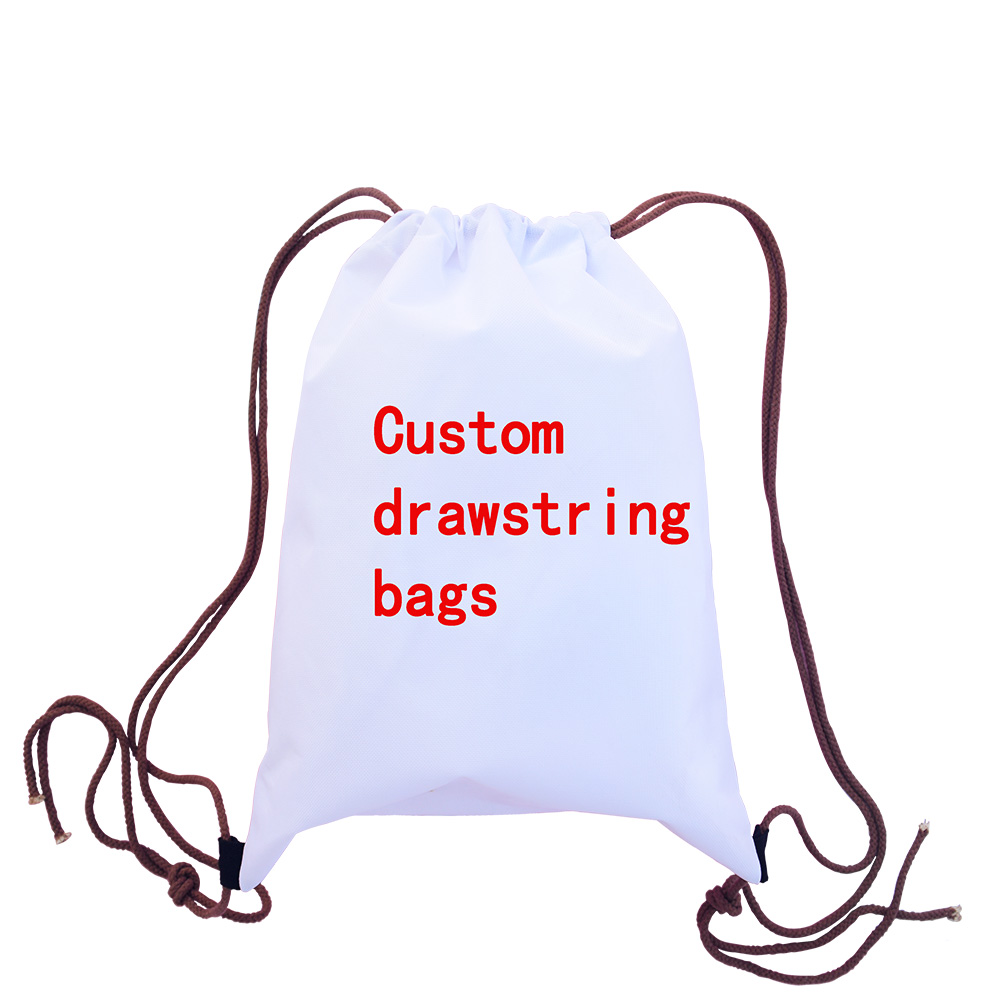Your design Custom cushion cases drawstring Bag storage campers living room Pillowcase Madrid real betis Space bag Free shipping