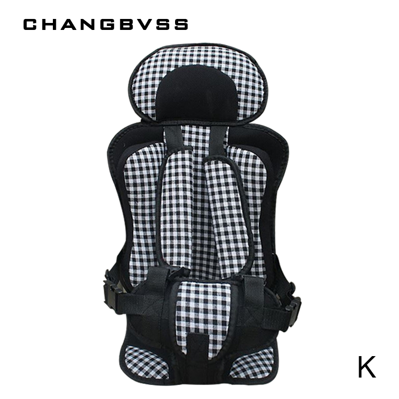 1 to 12 years old Children Safety Sit Seats Baby Protection Seat Cushion Portable Infant Seats Kids Booster Chairs Travel Mat children red black adjustable cotton child car safety seats comfortable infant practical baby cushion for kids 9 months 12 years