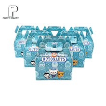 24ชิ้น/ล็อตCandyกล่องเค้กของขวัญกล่องสำหรับเด็กOctonauts Theme Party Baby Shower Partyตกแต่งParty Favor Supplies