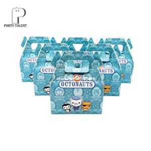 Image 1 - 24ピース/ロットキャンディーボックスケーキボックスギフトボックス子供のためのoctonautsテーマパーティーベビーシャワーパーティーの装飾パーティーの好意用品