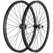 NEW Mountain Bike Carbon Wheels 29ER 35mm Width 25mm Depth With Powerway M71 Hub Thru-Axle Carbon Wheelset Hookless(China)