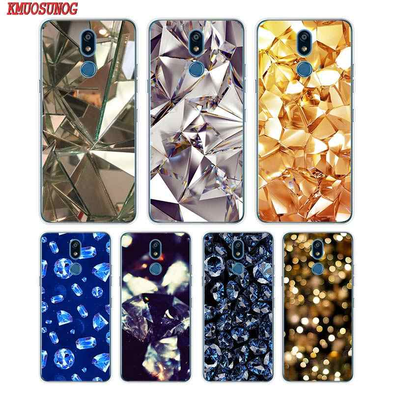 Siliconen Soft Phone Case Crystal Diamond Voor Lg K50 K40 Q8 Q7 Q6 V50 V40 V35 V30 V20 G8 G7 g6 G5 Thinq Mini Cover