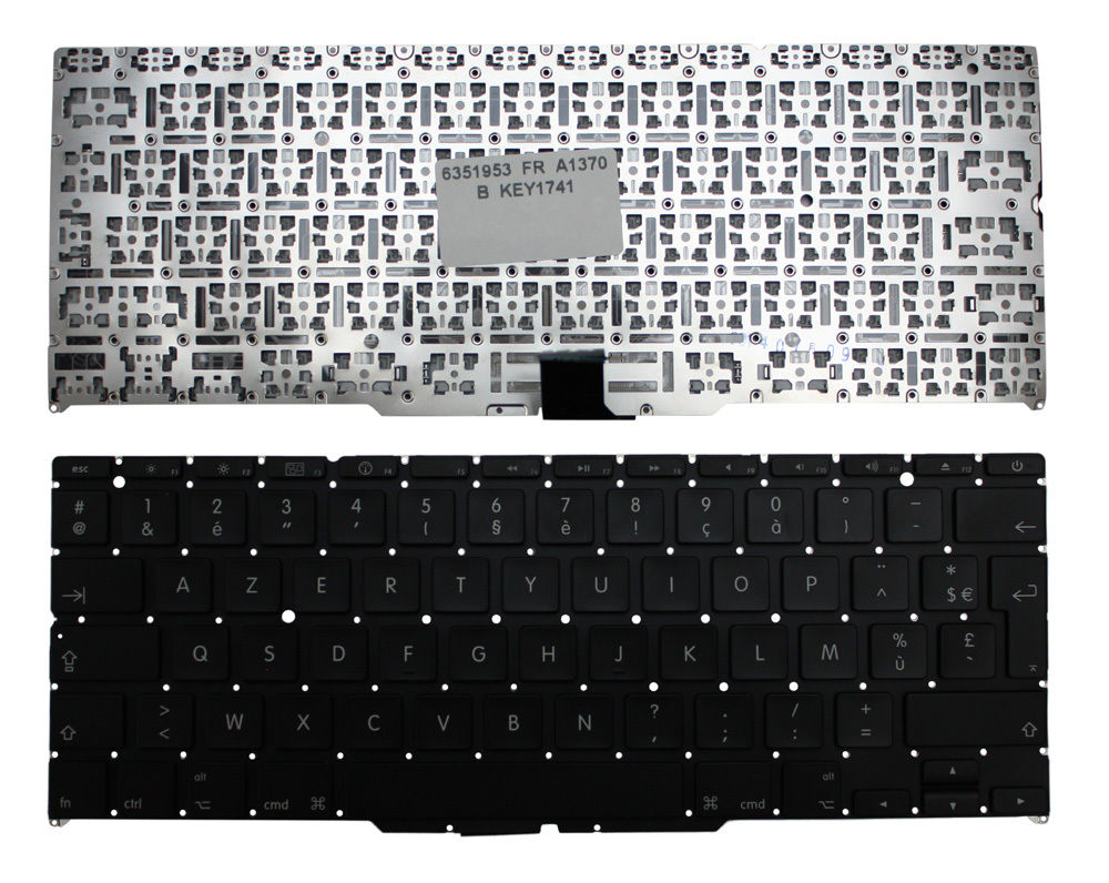 New Laptop keyboard for Apple MacBook Air 11 Inch Late 2010 FR/French layout  new laptop keyboard for apple macbook pro a1425 fr french layout