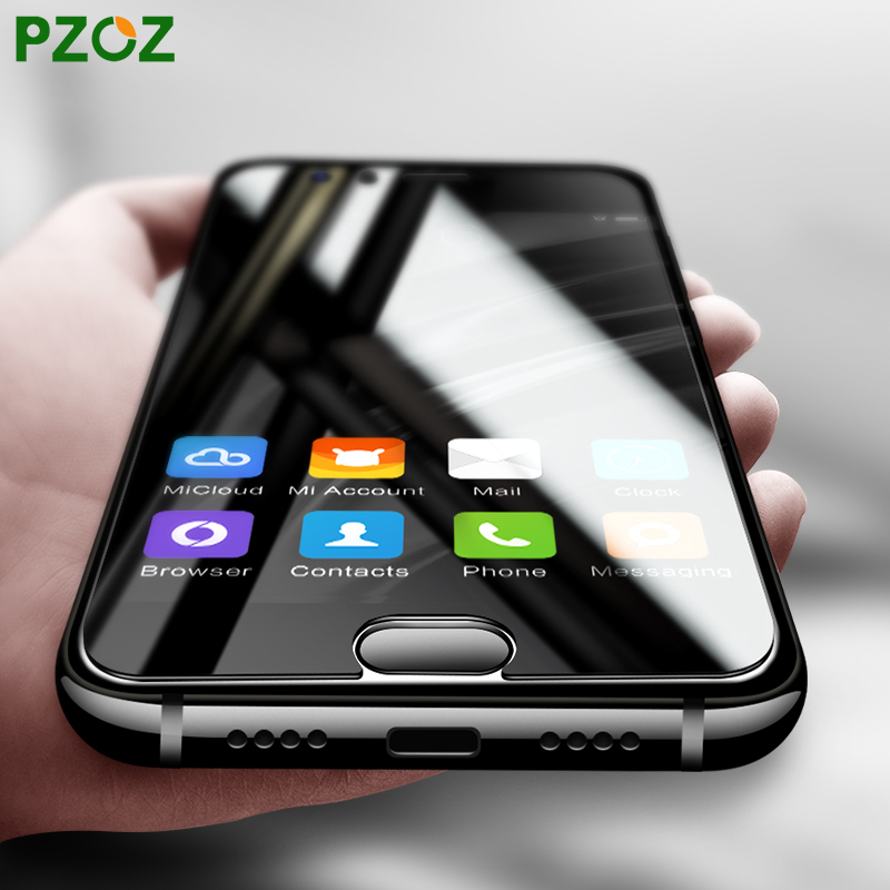 PZOZ Xiaomi Mi6 Tempered Glass Cover 2.5D Xiomi Mi6 Screen Protector HD Transparent Film Xiaomi Mi 6 Xiami Mi6 Snapdragon 835