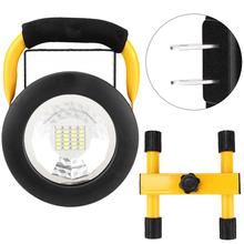 AC110V-240V Portable Outdoor LED Camping Lamp Waterproof Work Light Rechargeable Flood Light Searchlight