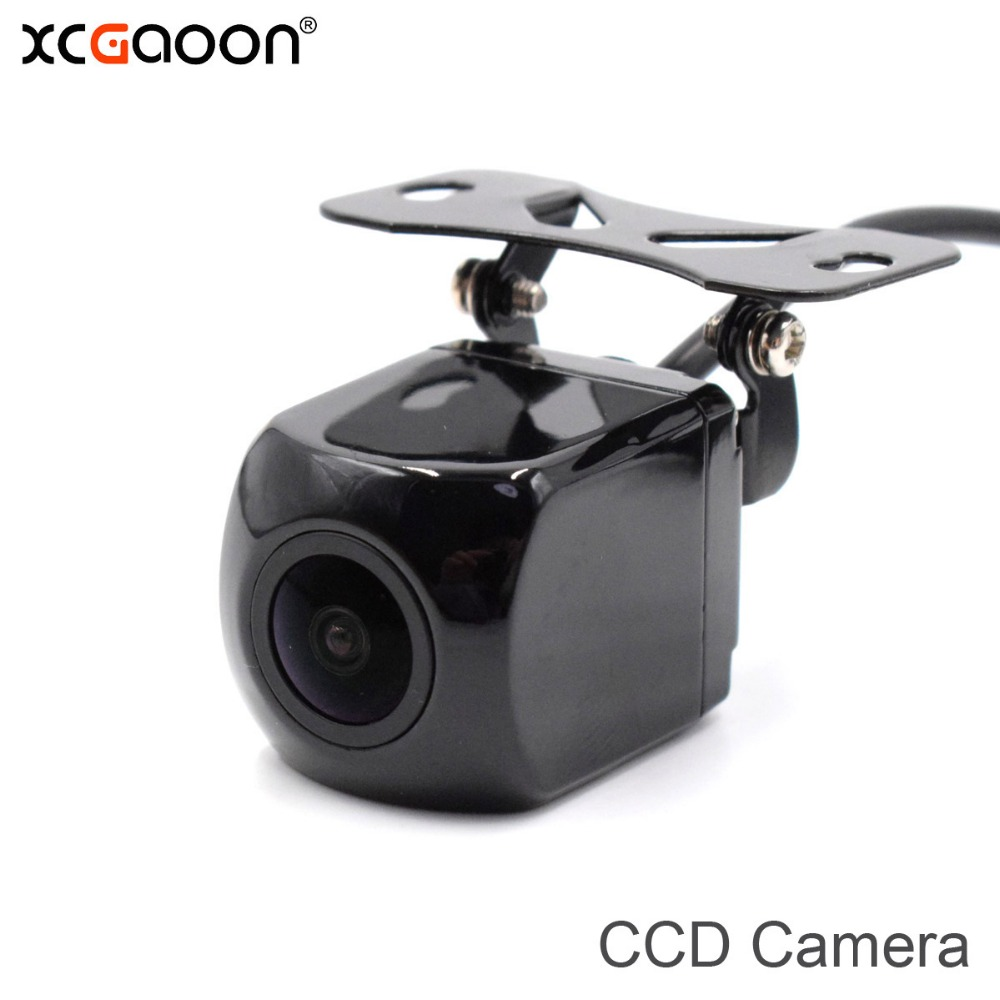 цена на XCGaoon Q3 CCD HD Car Rear View Camera Waterproof 170 Degree Wide Angle Backup Camera Parking Reversing Assistance