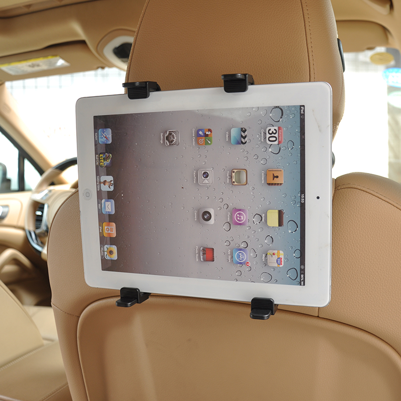 Car Headrest Mount Holder for GPS Ipad Mini/4/3/2 Galaxy Tab Note Asus Samsun Lenovo Dell Acer HP LG Toshiba Google Tablets