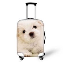 ELVISWORDS Cute Hiromi Suitcase Luggages Protective Cover for Gilrs Travel Trolley Case Dustproof Protector Bags Traveling Cases