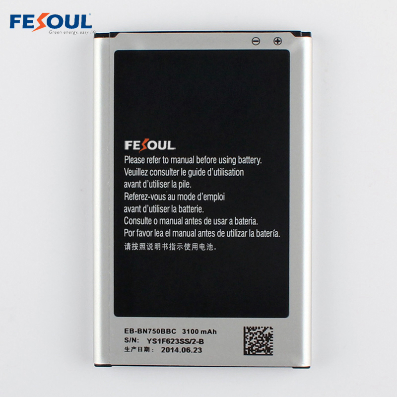 New EB-BN750BBC Rechargeable Li-ion phone battery For Samsung Galaxy Note 3 neo N7505 N750 note 3 mini Note 3 Lite N7506V