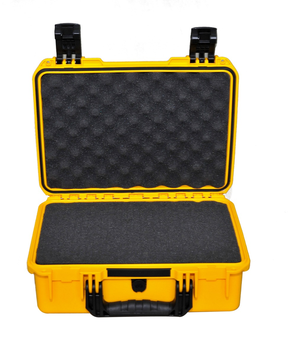 water-resistant  hard plastic carry case M2200