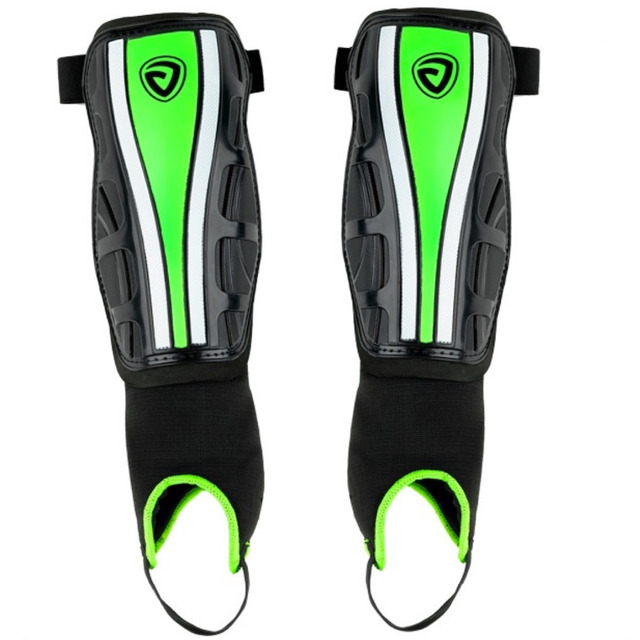 Janus JA381 professional double layer protective football child adult cuish plate shin guard shank pad