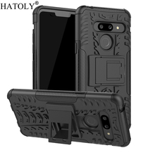 For LG G8 ThinQ Case Shockproof Armor Shell Heavy Duty Hard Rubber Silicon Phone for Cover