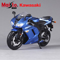 1:12 Scale Maisto kawasaki Ninja ZX-6R diecast metal race cars motorcycle vehicle models collection boys toys display for kids